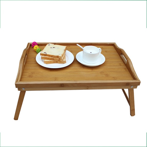 foldable bamboo tray